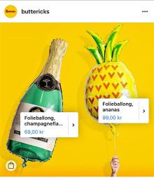 Gilla det! Köp det! Nu lanserar Butterick's Instagram Shopping