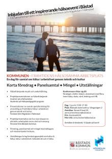 Inbjudan till hälsoeventet den 1 juni i Båstad