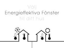 Ekstrands gör det lättare att välja energieffektiva fönster till ditt hus