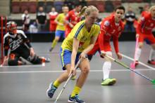 Delgado Johansson sexmålsskytt när Sverige slog Tjeckien