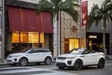 Range Rover Evoque taber mindst af alle