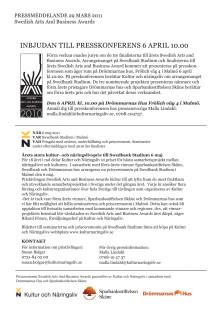 Pressmeddelande SABA 29 mars 2011