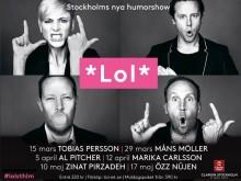 Clarion Hotel Stockholm –Stockholms nya humorshow - *Lol* Sthlm