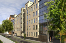 Säljstart för Riksbyggens Brf Lokstallet – sista chansen att köpa lägenhet i Växjös populära stationsområde