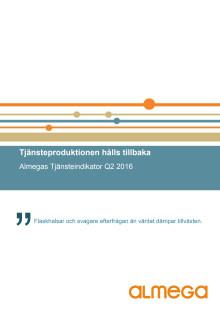 Almegas Tjänsteindikator Q2 2016