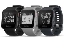 Garmin® presenterar Approach® S10, en lättanvänd golfklocka med GPS