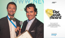 "Nevado Roses President wins the 2012 ""One Wish Award"""