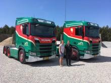 Snave Vognmandsforretning med nye Scania