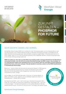 Infobrief zum Projekt Klärschlammverwertung