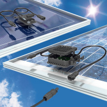 Kopplingsbox för solpaneler