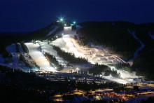 Lys over sneen på de svenske skidestinationer