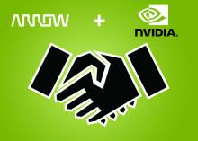 Arrow Electronics adresserar AI-Drivna Datacenter med NVIDIA-lösningar