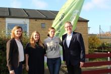 Børne- og socialministeren mødes med unge fra headspace