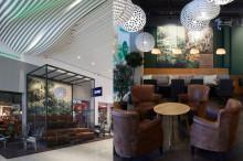 Eurostop byter namn till Hallarna och Wayne´s Coffee inviger sitt kafé!