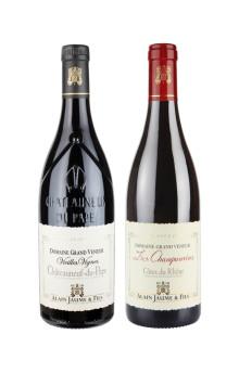 Exklusiva nyheter!Två viner från den prestigefulla Châteauneuf-du-Pape producenten Alain Jaume & Fils lanseras inom kort i Sverige.