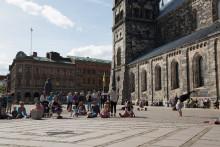 Dansens dag firas med dans på Domkyrkoplatsen