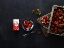 Jordbærsæsonen får flødesalget i vejret