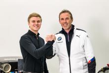 Svenske Erik Johansson är ny BMW Motorsport Junior 2019