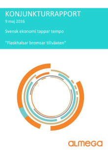 Almegas Konjunkturrapport maj 2016