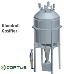 Cortus builds biomass gasification plant