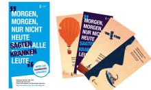 Frisch eingetroffen: Neue Flyer und Plakate zum Darmkrebsmonat März 2018