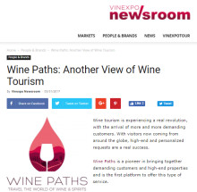 Vinexpo talks about Wine Paths
