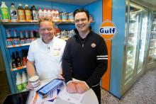 Gulf fyller tankarna med service  – premiärstation öppnad i Skellefteå