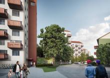 Nu startar bygget av 125 hyresrätter i Kortedala