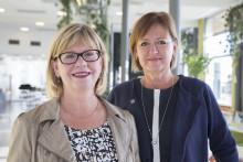 Två nya professorer i omvårdnad vid Högskolan i Skövde