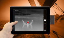 Navigational planning app enhances safety with  thermal imaging feature