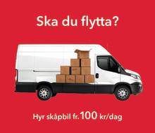 Avis sänker priset på flyttbilar fr 100 kr dygn under flyttsäsongen
