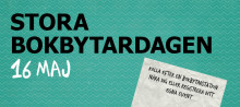 Snart dags för Stora Bokbytardagen - då hela Sverige byter böcker