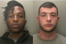 Armed robbers jailed for nine years each after threatening cashier during terrifying raid