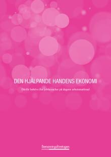 Den hjälpande handens ekonomi - Därför behövs fler jobbcoacher på dagens arbetsmarknad
