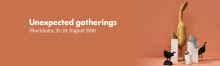 Unexpected Gatherings – autumn theme for Formex 2018