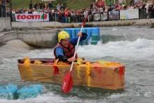 10. Pappbootrennen im Kanupark Markkleeberg sucht im Jubiläumsjahr 2016 wieder kreative Bastler