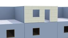 Weber lanserar Serporoc Prefab- prefabricerade betongväggar för enklare fasadmontering