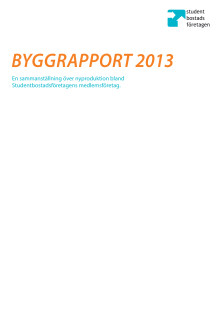 Byggrapport 2013