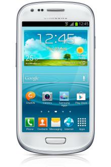 Nu finns Samsung Galaxy SIIIs lillebror hos 3