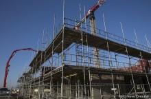 Stockholms byggande bromsar in, enligt Industrifaktas regionrapport