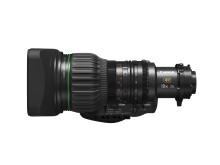 Smidig hantering, utsökt bildkvalitet – Canons CJ18EX7.6B är det perfekta kompakta objektivet för broadcast-produktion i studiomiljö