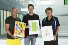Tenniseliten målade med Beckers
