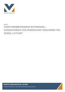 Menon-analyse for Norwegian