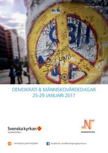 Demokrati & Människovärdedagarna 2017