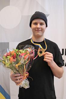 SM-guld i plåtslageri till Daniel från Karlskrona