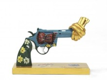 Gucci redesigns knotted gun to promote Non-Violence