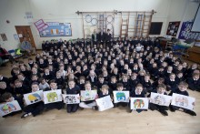 Schools win place in the Elephant Parade national tour