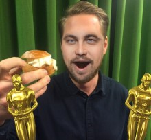 Leonardo DiCaprio på besök