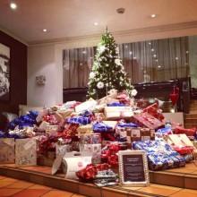 Hotellgäster skänkte 52 000 julgåvor till utsatta barn
