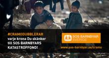 Flyktingkatastrofen - Cramo utökar stödet till SOS Barnbyar